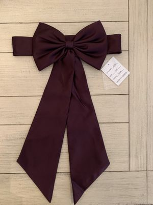 David's Bridal satin sash with bow for Sale in Corona, CA