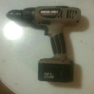 Porter-Cable Drill / Hammer Drill. 14.4 Lithium With Battery And I Do Have A Handle With A Bonus for Sale in Puyallup, WA
