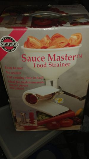 NorPro saucemaker for Sale in S WILLIAMSPOR, PA