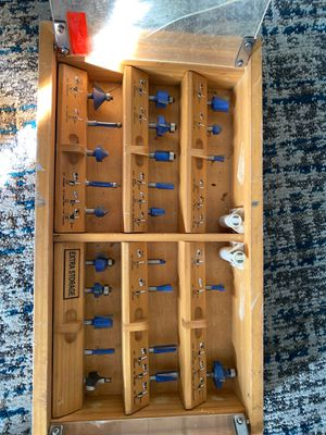 Various router bits. Best offer for Sale in Anaheim, CA