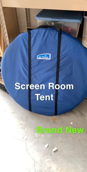 Camping - screen room tent with instructions for Sale in Lake Worth, FL