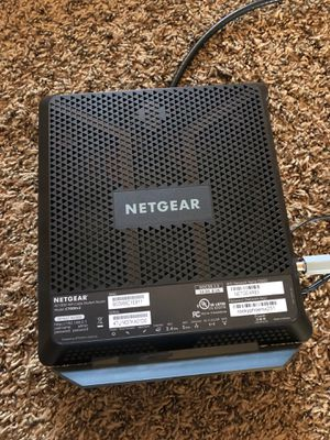 Netgear C7000v2 modem+router for Sale in Vancouver, WA