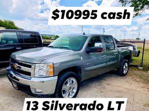 2013 Chevrolet Silverado LT Crew Cab for Sale in San Antonio, TX