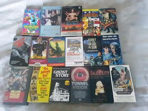 VHS Movie Lot - Horror, Sci-Fi, Cult!!! for Sale in West Hollywood, CA