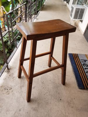 Wooden stool for Sale in Los Angeles, CA