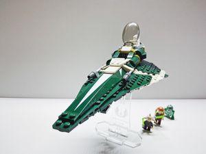 Lego Star Wars 9498 Saesee Tiin's Jedi Starfighter for Sale in Irvine, CA