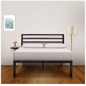 Queen size bed frame - no box spring needed for Sale in Phoenix, AZ