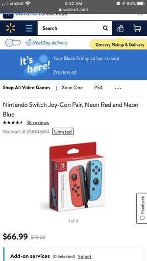 Nintendo switch controls for Sale in Fresno, CA