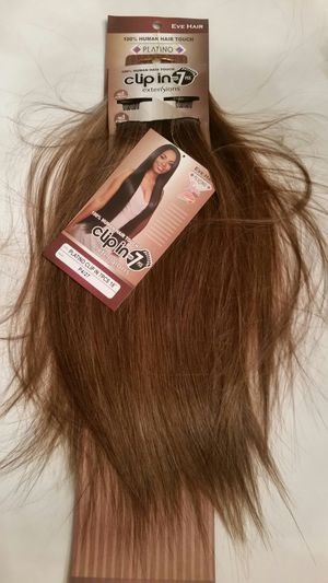 Dark brown & strawberry honey blonde hair extensions for Sale in Downey, CA
