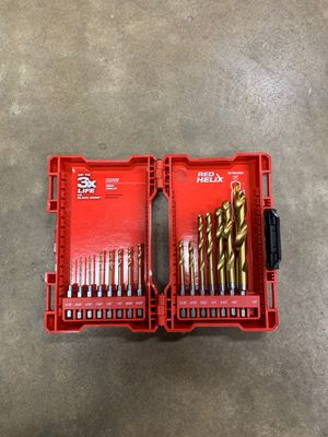 Milwaukee Red Helix drill bits 48-89-4630 15pc for Sale in Orange, CA