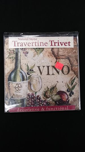 Decorative tile/wine coaster trivet for Sale in Riverside, CA