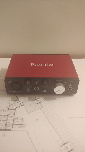 Focusrite Scarlett Solo (2nd Gen) USB Audio Interface with Pro Tools | First for Sale in Los Angeles, CA