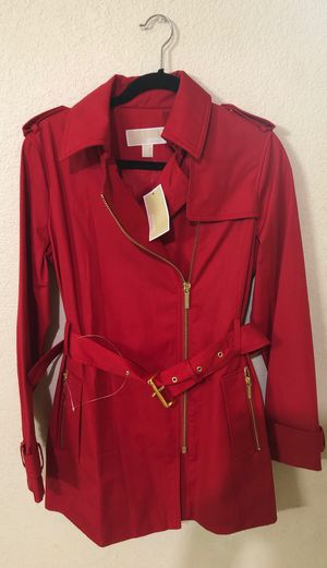 Michael Kors authentic women's jacket brand new with tags for 120$ only great deal size small for Sale in Bellevue, WA