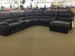 7pc Motion Sectional Living Room Set for Sale in Humble, TX
