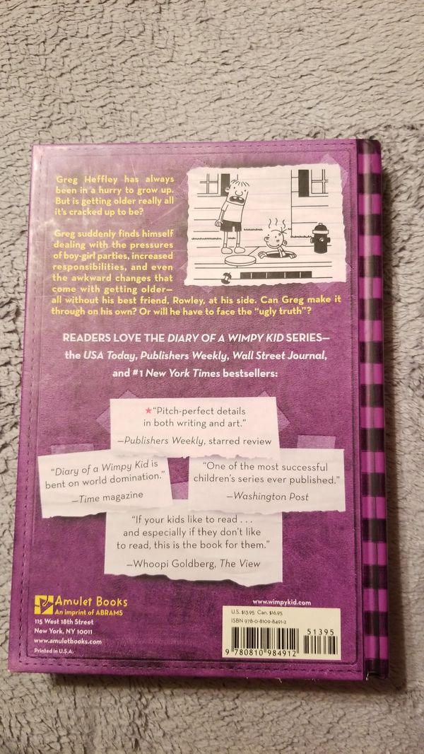 Diary of a Wimpy Kid, The Ugly Truth, No. 5, Brand New