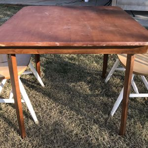 Square Dining Table (No chairs) for Sale in Fresno, CA