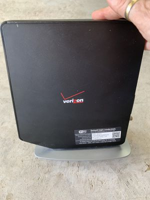 Verizon fios router for Sale in Waxahachie, TX