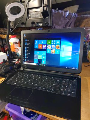 Toshiba satellite laptop 4gb ram 500gb HDD. C55 for Sale in Rancho Cucamonga, CA