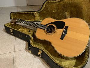 1981 Yamaha L-15A Acoustic Guitar w/ Original Case for Sale in Carson, CA