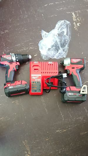Milwaukee 18v Brushleess impact Drill. And HAMMER DRILL new for Sale in Silver Spring, MD