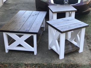 Custom made coffee and end tables for Sale in Montgomery, AL