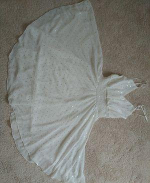 White prom dress for Sale in Woodbridge, VA