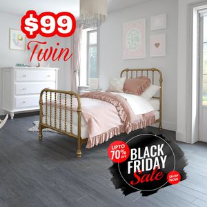 Metal Twin Bed Frame ‼️Black Friday Sale‼️ for Sale in Dallas, TX