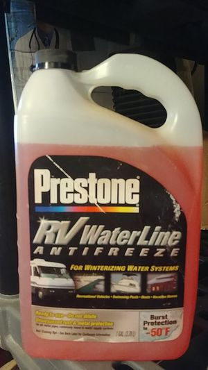 Prestone rv waterline antifreeze for Sale in York, PA