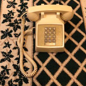 Restored Beige Western Electric 2500 Touch tone Desk Telephone for Sale in Bailey's Crossroads, VA