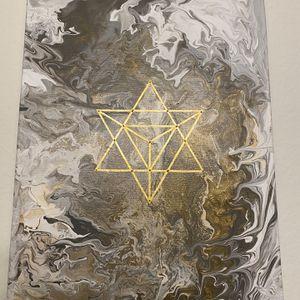 Merkaba Star Wall Art for Sale in Los Angeles, CA