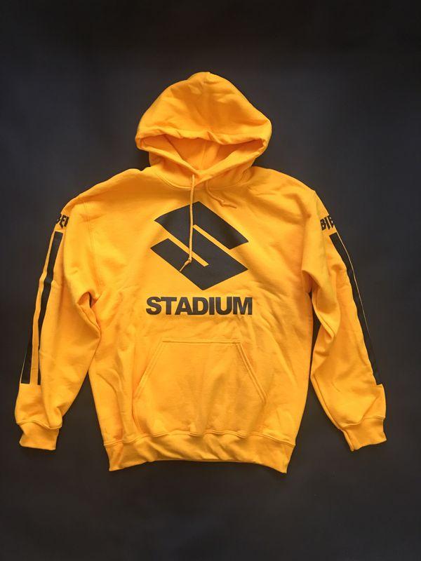 Justin Yellow Stadium Hoodie