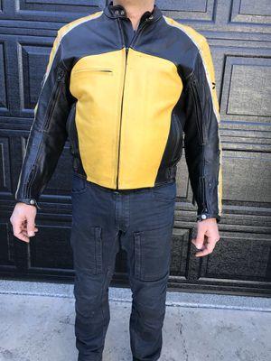 Joe Rocket leather motorcycle jacket for Sale in Los Angeles, CA