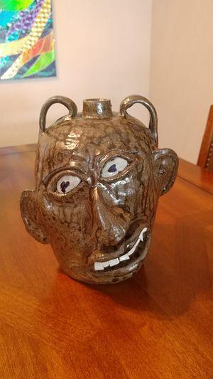 Chester Hewet Face Jug for Sale for sale  Sun City, AZ