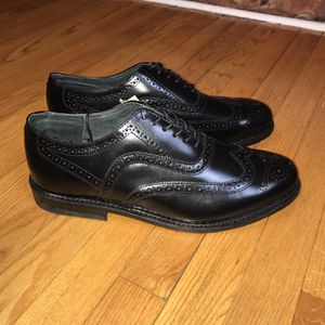 Miracle Thread Men's Wing-Tip Oxford Size 13 Leather New without box for Sale in French Creek, WV