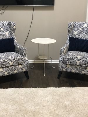 Two elegant Pier One arm chairs..👍🏻 for Sale in Nokesville, VA