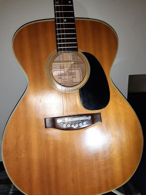 VINTAGE 1972 - KASUGA ACOUSTIC GUITAR - JAPANESE LAWSUIT GUITAR - MARTIN COPY MODEL # K F - 420 for Sale in Tacoma, WA