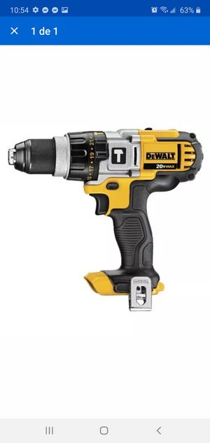 Dcd985 20V Max lithium ion premium 3-speed hammer drill/driver has a patented 3-speed for Sale in Dumfries, VA