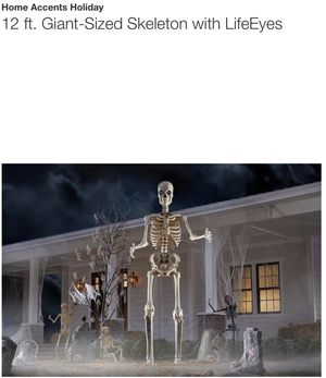 12 ft Skeleton for Sale in Scottsdale, AZ
