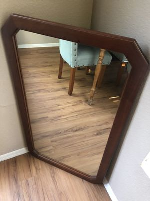 Wall Mirror with wood frame for Sale in Scottsdale, AZ