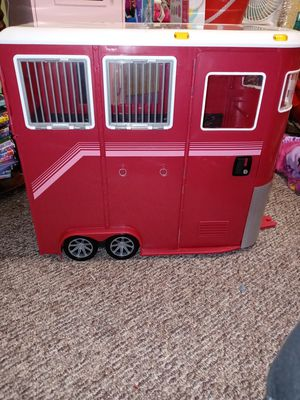 18 inch doll horse trailer for Sale in Belleville, MI