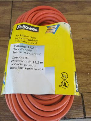 Orange extension cord 50 ft for Sale in US