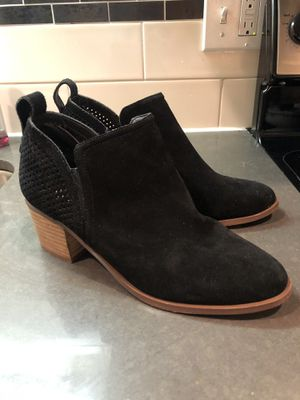 Steve Madden Black Suede Booties for Sale in Seattle, WA