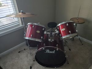 Pearl Drum Set for Sale in Morrisville, NC