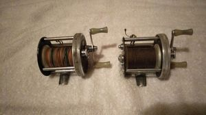 Vintage Haddon fishing reels for Sale in St. Louis, MO