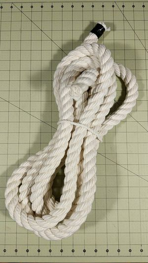"12' of 1"" cotton rope - perfect DIY dog toy material for Sale in Tacoma, WA"