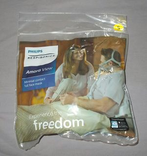 NEW Philips Amara View S SMALL Mask w Headgear Complete Sealed 1090622 for Sale in Oceanside, CA