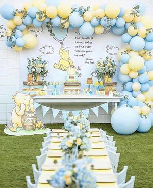 Birthday Party Decorations - Balloon Columns - Winnie The Pooh or Any Theme for Sale in Medley, FL