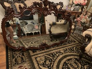 Huge antique mirror for Sale in Long Beach, CA