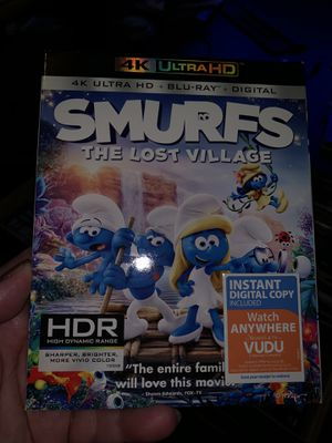 Smurfs 4K movie for Sale in Sanger, CA
