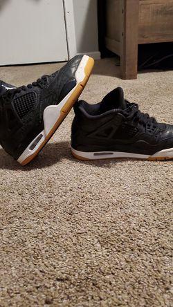 Jordan 4 Retro Lazer Black Gum for Sale in Wichita,  KS
